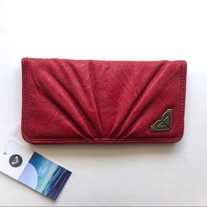 Roxy • Red Vegan Leather Heart Shape Wallet